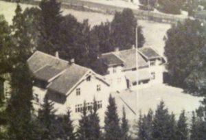 Gamleskolen ca 1970